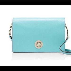 CLOSET CLOSING Kate Spade Aqua Blue Bag NWT